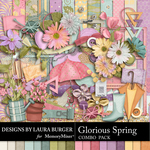 Glorious Spring Combo Pack-$8.99 (Laura Burger)