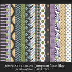 Jumpstart Your May 2017 Patterned Papers-$2.40 (Jumpstart Designs)