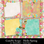 Hello Spring CPS Stacked Paper Pack-$2.99 (CutiePie Scraps)