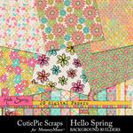 Hello Spring CPS Paper Pack-$2.99 (CutiePie Scraps)