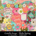 Hello Spring CPS Combo Pack-$4.99 (CutiePie Scraps)