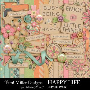 Happy life combo pack medium