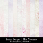 This Moment Paper Pack-$3.49 (Indigo Designs)