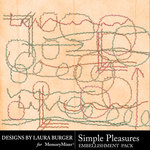 Simple Pleasures Stitches Pack-$3.99 (Laura Burger)