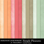 Simple Pleasures Solid Papers-$2.99 (Laura Burger)