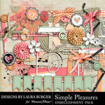 Simple Pleasures Add On Embellishments-$4.99 (Laura Burger)