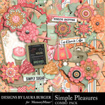 Simple Pleasures Combo Pack-$6.99 (Laura Burger)