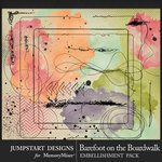 Barefoot on the Boardwalk Accents Pack-$3.99 (Jumpstart Designs)