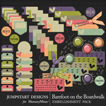 Barefoot on the Boardwalk Bits and Pieces-$2.40 (Jumpstart Designs)
