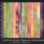 Barefoot on the Boardwalk Blended Papers-$2.40 (Jumpstart Designs)