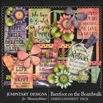 Barefoot on the Boardwalk Spare Parts Pack-$2.40 (Jumpstart Designs)