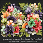 Barefoot on the Boardwalk Blooms Pack-$3.99 (Jumpstart Designs)