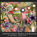 Barefoot on the Boardwalk Combo Pack-$4.80 (Jumpstart Designs)