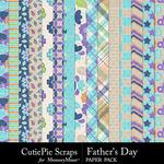 Fathers Day Paper Pack-$2.99 (CutiePie Scraps)