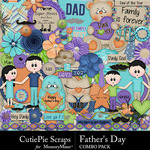 Fathers Day Combo Pack-$5.99 (CutiePie Scraps)