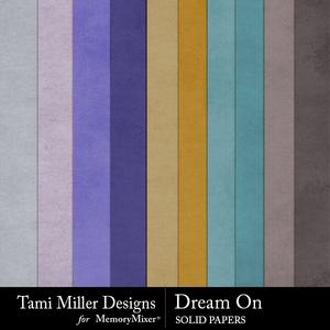 Dream on solids medium