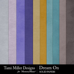 Dream On Solid Paper Pack-$2.99 (Tami Miller)