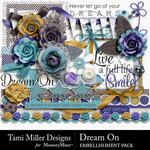 Dream on embellishments small