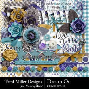 Dream on combo pack medium