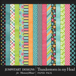 Thunderstorm in my Head Paper Pack-$3.99 (Jumpstart Designs)