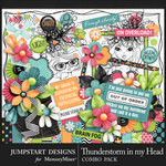 Thunderstorm in my Head Combo Pack-$7.99 (Jumpstart Designs)