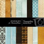 Tranquility Paper Pack-$3.49 (Julie Klaus)