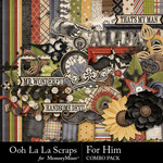 For Him Combo Pack-$4.99 (Ooh La La Scraps)