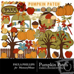 Pumpkin Patch Embellishment Pack-$3.49 (Paula Phillips)