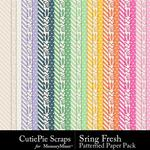 Spring Fresh CPS Pattern Papers-$2.99 (CutiePie Scraps)