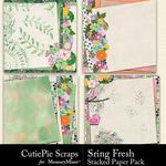 Spring Fresh CPS Stacked Papers-$2.99 (CutiePie Scraps)