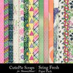 Spring Fresh CPS Paper Pack-$2.99 (CutiePie Scraps)