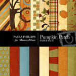 Pumpkin Patch Paper Pack-$4.00 (Paula Phillips)