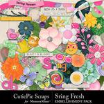 Spring Fresh CPS Embellishments-$2.99 (CutiePie Scraps)
