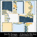 Spring In My Step Pocket Cards Pack-$1.99 (Just So Scrappy)