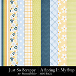 Spring in my step mini kit papers small