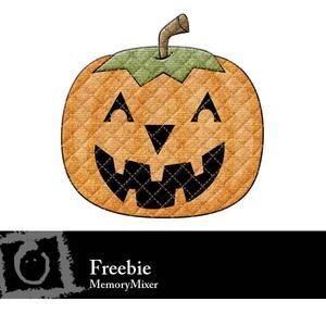 Pumpkin label medium