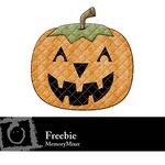Pumpkin Quilted Freebie-$0.00 (Karen Lewis)