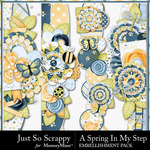 Spring In My Step Page Border Pack-$1.99 (Just So Scrappy)