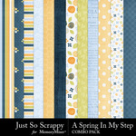 Spring in my step kit papers small