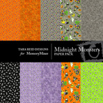Midnight Monsters Paper Pack-$4.00 (Tara Reed Designs)