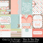 This Is The Day Pocket Cards Pack-$1.99 (Ooh La La Scraps)