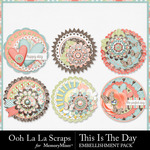This Is The Day Cluster Seals Pack-$1.99 (Ooh La La Scraps)