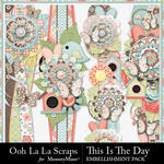 This Is The Day Page Borders Pack-$1.99 (Ooh La La Scraps)