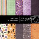 Hey Halloween Paper Pack-$3.50 (Karen Lewis)