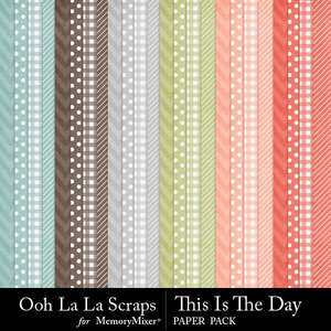 This is the day pattern papers medium
