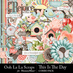This Is The Day Combo Pack-$4.99 (Ooh La La Scraps)