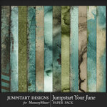 Jumpstart Your June 2017 Blended Papers-$3.99 (Jumpstart Designs)