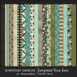 Jumpstart Your June 2017 Paper Pack-$3.99 (Jumpstart Designs)
