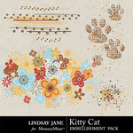 Kitty Cat Scatterz Pack-$1.99 (Lindsay Jane)