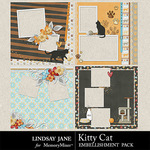 Kitty Cat QuickPages-$2.99 (Lindsay Jane)